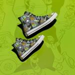Converse sorprende con línea de zapatillas de Scooby Doo