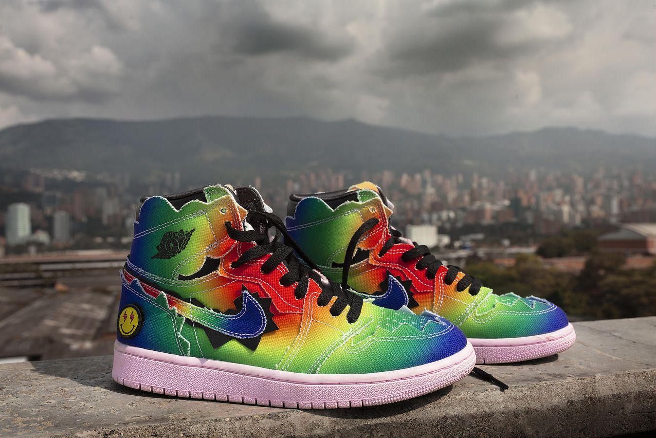 Cabaña Complacer Cumplido  Nike Air Jordan 1 Retro High OG x J Balvin llegan a Chile | Majos