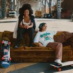 H&M colabora con la marca de skate No Fear, junto con The Skate Kitchen